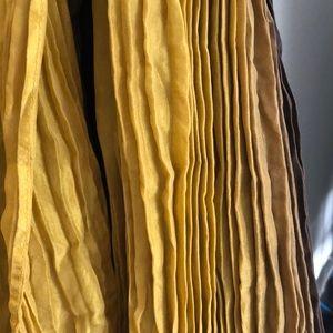 Eileen fisher silk scarf/shawl. 72 x 36